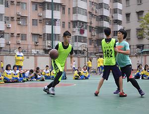 广州明师教育学生篮球比赛